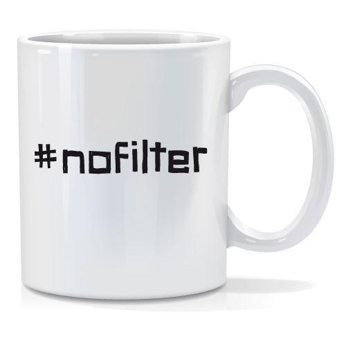 Tazza personalizzata #nofilter