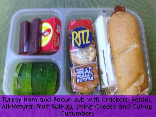 sub sandwich bento