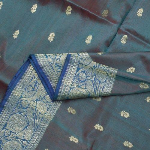 Benarasi silk cotton.