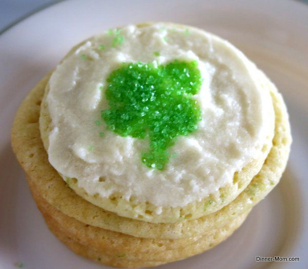 Key Lime Cookies and Key Lime Icing - The Dinner-Mom