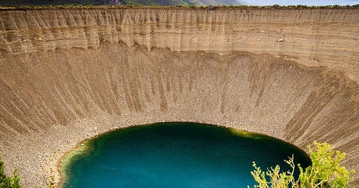 "Pozo de las Animas or the ""Well of Souls"" is a pair of two spectacular sinkholes located in Mendoza province, in Argentina, along Provincial..."