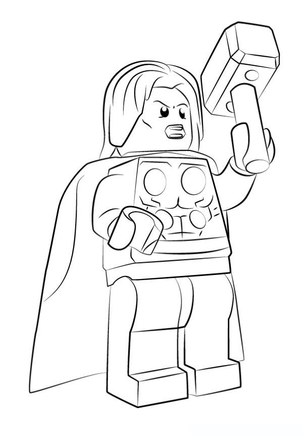 Free Thor Coloring Pages Collection Avengers Coloring Marvel Coloring Avengers Coloring Pages