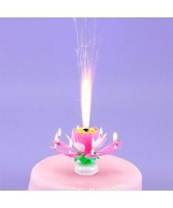 Musical Birthday Sparkle Candle Fountain | Candles | Kids Partyware