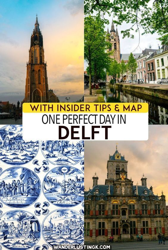 Planning to visit Delft? Plan your perfect day in Delft with a self-guided walking tour of Delft with insider tips on things to do in Delft. #Travel #Netherlands #Delft