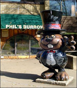 Punxsutawney, Pa., may be most famous for its Groundhog Day celebration, but this charming small town offers many attractions for the entire family both in and around town any time of year.  See Phil's pen in a large window at the library in Punxsutawney.