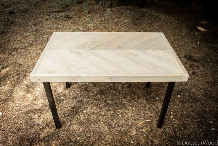 table-basse-chevron