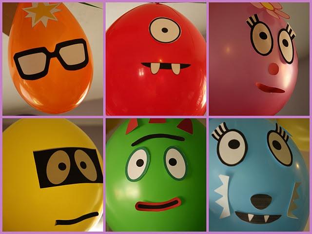 Yo Gabba Gabba balloons!
