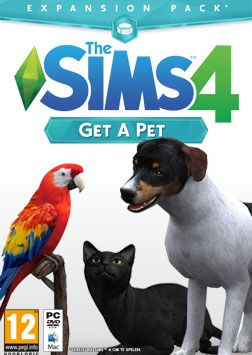 The Sims 4 Get A Pet Boxart leaked