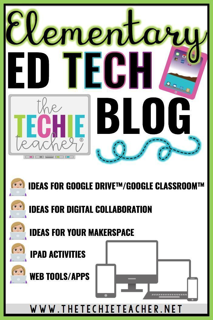 Do you like to learn about new tech tools and how to incoporate them into your curriculum in meaningful ways? Then follow The Techie Teacher's blo…