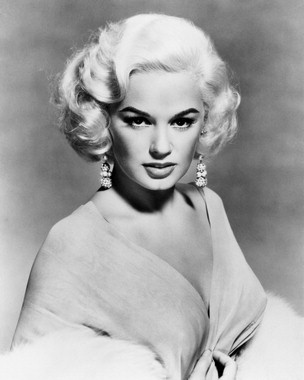 -Mamie Van Doren, cult movie glamour girl of the 1950s