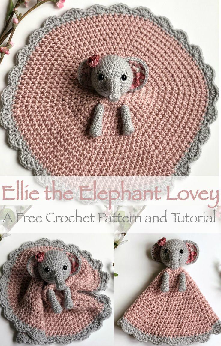 Ellie der Elefant Lovey – kostenlose Anleitung – #…