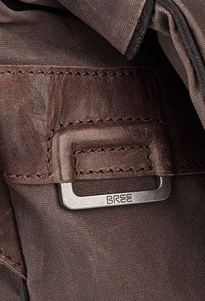 BREE | Hannover 3 mocca - Linen Textile Waxed