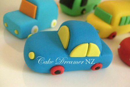 how to make a fondant car - Google Search