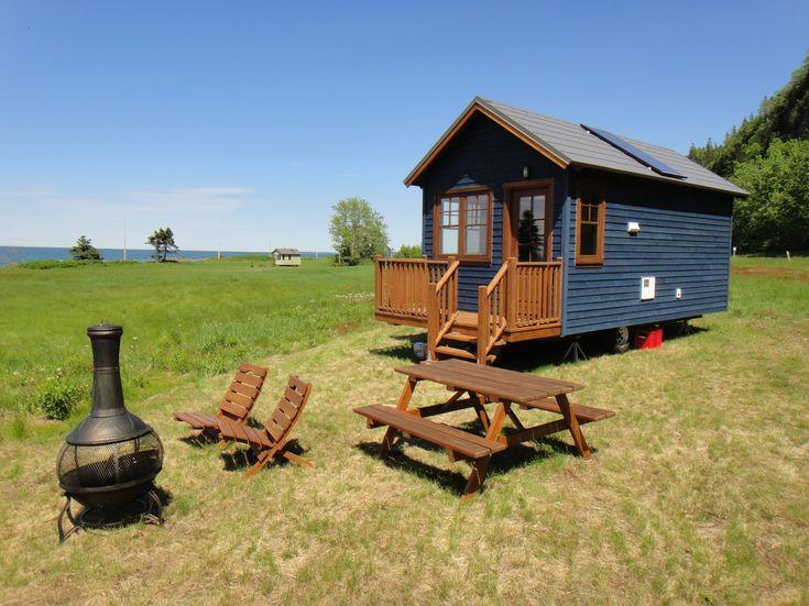 Visite de la Tiny House pour 1 à 2 personnes   Cabins and