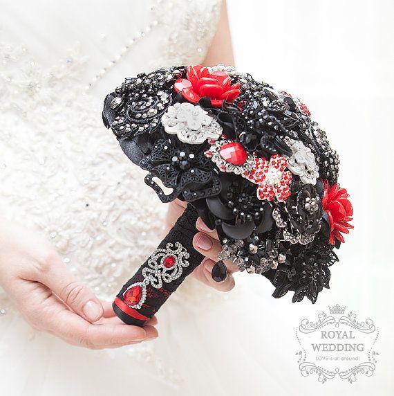 Ramo de novia ramo de broche Wedding Bouquet por RoyalWeddingDecore