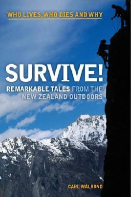 New Zealanders love exploring the outdoors, but when things go wrong, why do some people survive and some don't? Carl Walrond uses contemporary and historical accounts of mishaps and adventures to reveal interesting truths about survival. In doing so, he finds that the mind and the tricks it plays can be just as challenging as the wilderness itself.