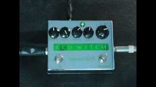Ben Fulton, creator, designer and founder of Red Witch demos Pentavocal Tremolo