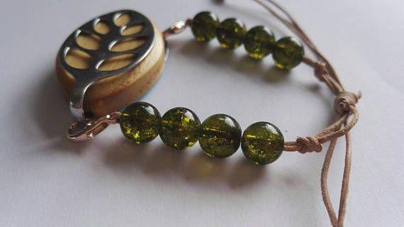 Bellabeat bracelet adjustable green beads in my Etsy shop https://www.etsy.com/uk/listing/512915310/bellabeat-leaf-bracelet-adjustable