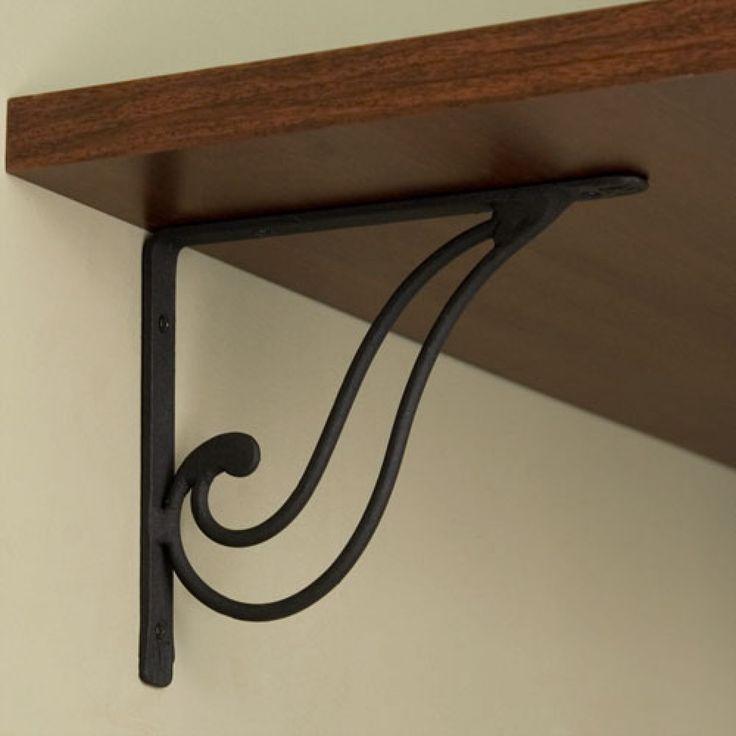 Whimsy Iron Shelf Bracket @ signaturehardware.com