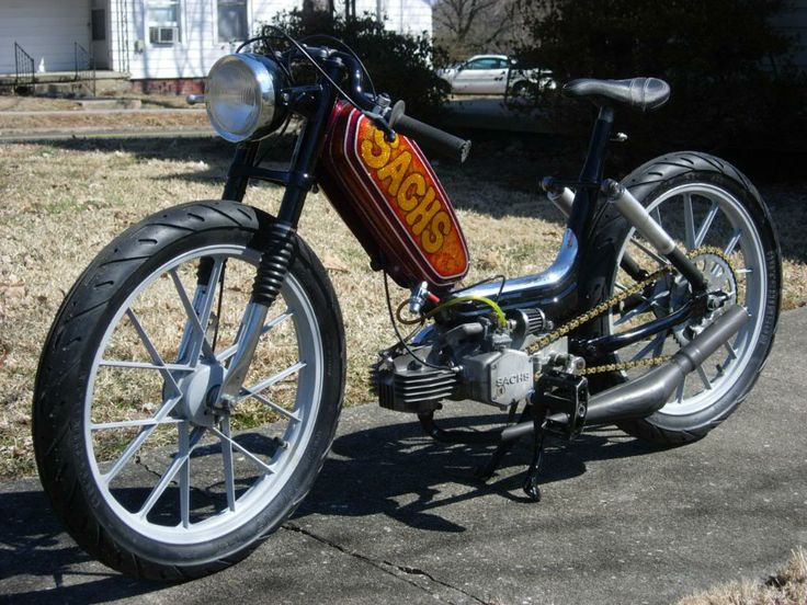 Sachs. Awesome!   Cafe Moped   Pinterest   Awesome ...  Sachs. Awesome!...