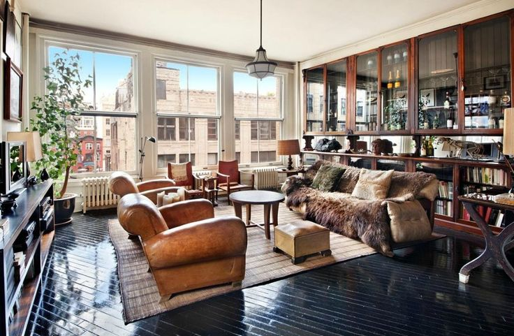 Design Duo Roman and Williams Relist Their $3.3M NYC Loft - On the Market - Curbed National