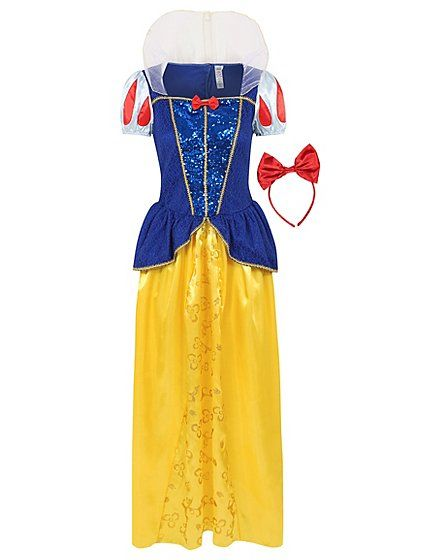 Mirror, mirror on the wall, you'll be the fairest of them all in this cute Disney Snow White adult fancy dress costume. In true Snow White style, you're sure...