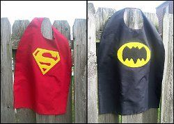 Superhero Cape Pattern!! Keighan  & Liam need these!!