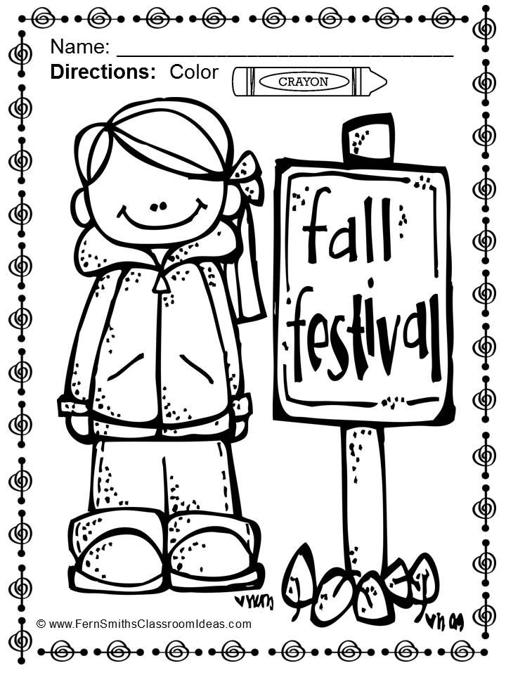 Coloring pages recess ~ Fall Coloring Pages - Over 220 Pages for Fall - Four Pack ...