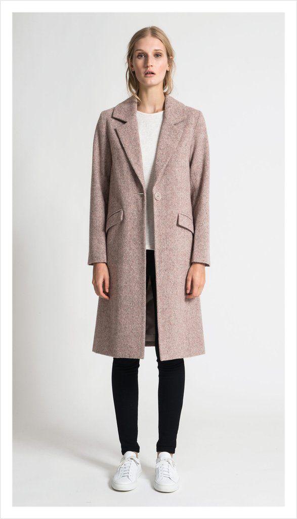 Juliette Hogan Colin Coat Tweed Suiting
