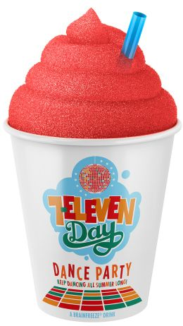 7-Eleven's Free Slurpee Day is here! Today! This year, the Slurpees are bigger!