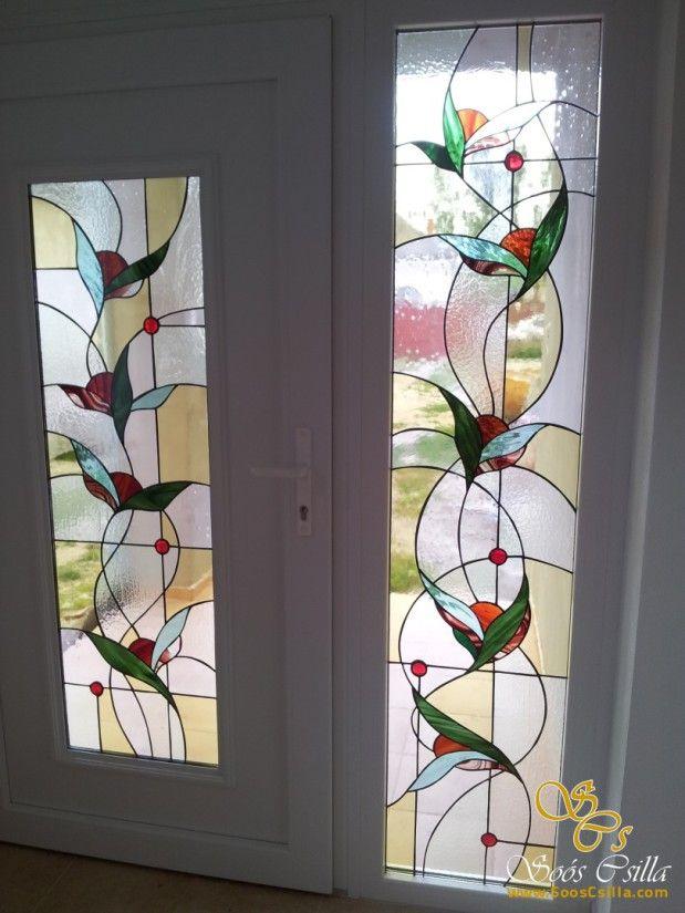 Farebná Vitráž Výplň Okna Moje Práce |