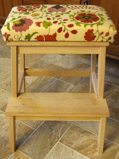 DIY: Removable Seat for the BEKVÄM step stool!_Repineado x @ljimenez1981