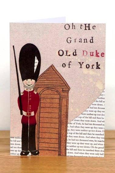 Pack of 6 Children's Nursery Rhyme Greetings Cards