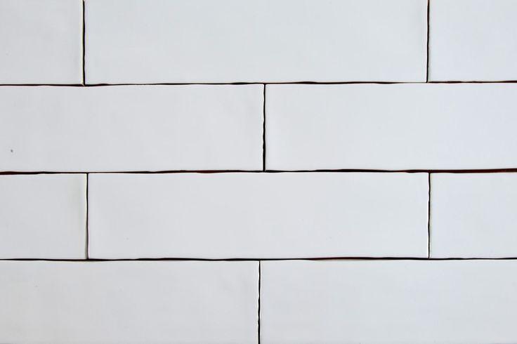 Lusso 3 X 12 Bianco Handmade Look Polished Subway Tile Bianco Handmade Lusso Polished Subwa Subway Tile Handmade Tile Backsplash Ceramic Subway Tile