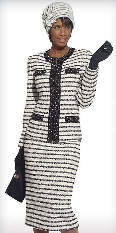 Donna Vinci Knits 15085 Womens Church Suit