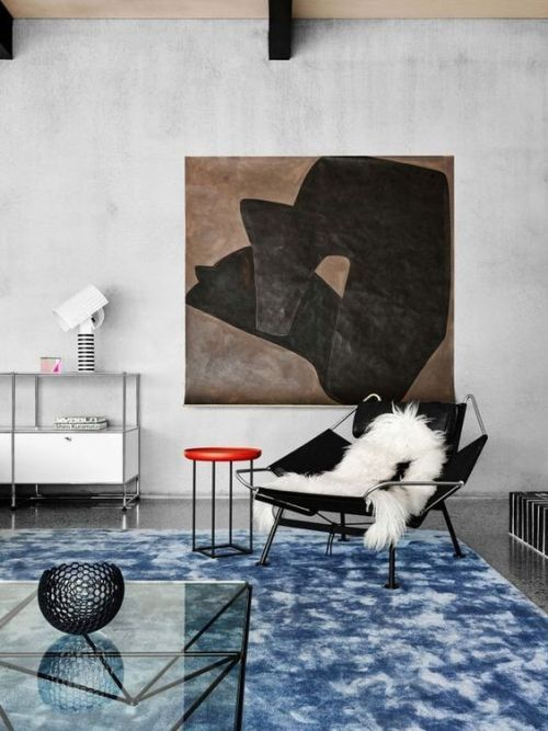 Flag Halyard easy chair by Hans J- Wegner from PP Møbler | Dusty Deco Inspiration