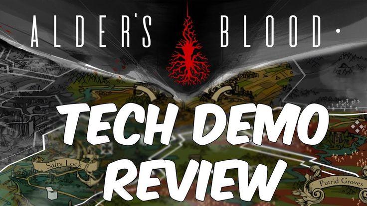 Alder's Blood Demo Review | Kickstarter Tactical Turn-Based Strategy (2018)