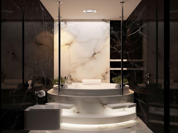 48 Best 卫生间 Images On Pinterest Kitchen Ideas Bathroom And Classy Black Marble Bathroom Creative