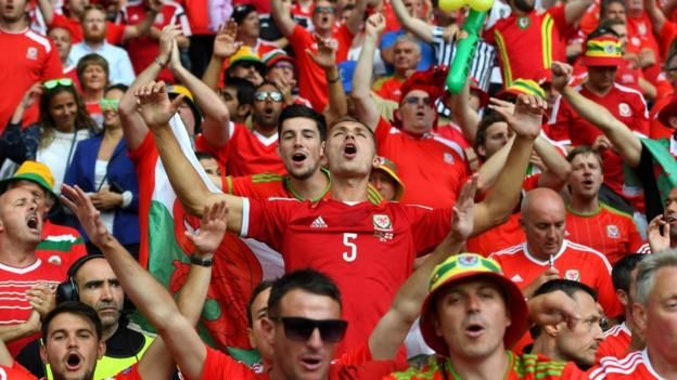 Euro 2016: Wales set for 'biggest game' since 1958 World Cup - BBC Sport