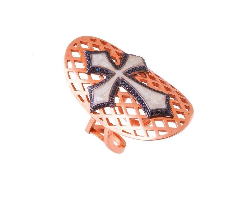 Δαχτυλίδι ασπίδα - ΔΑΧΤΥΛΙΔΙΑ - ΚΟΣΜΗΜΑΤΑ | lovart.gr