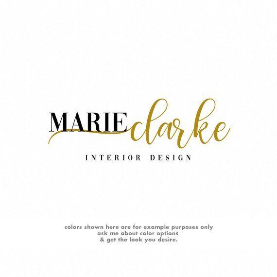 Interior Designer Logo Interior Design Branding Luxury Logo And