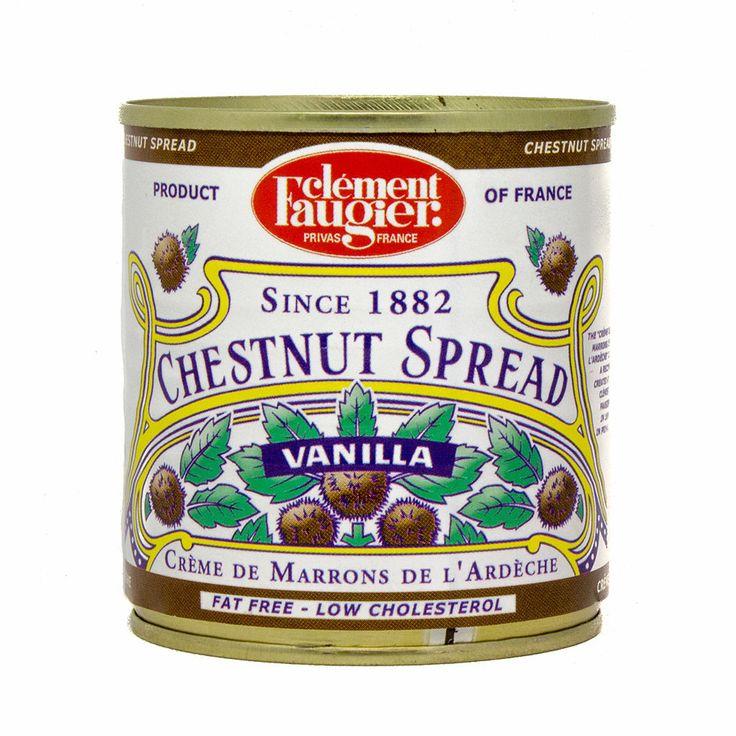 Chestnut Spread Puree de Marrons by Clement Faugier 8.75 oz