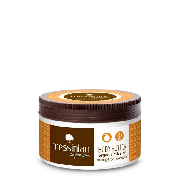 Body butter with Orange and Lavender for relaxation from messinian spa. Lovely texture and smell #messinianspa #naturalcosmetics