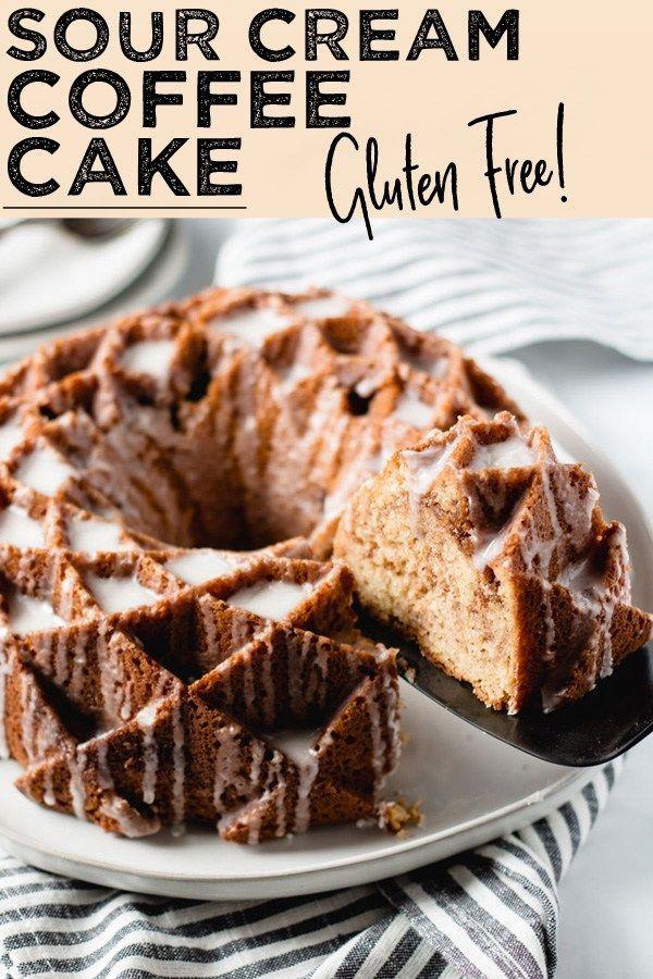 Pamela S Sour Cream Coffee Cake Recipe Gluten Free Coffee Cake Gluten Free Recipes For Breakfast Sour Cream Cake