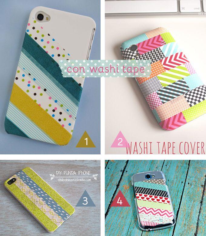 Best 25 diy washi tape iphone case ideas on pinterest for Washi tape phone case