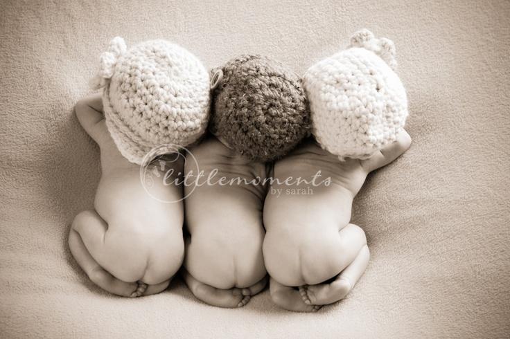 Photo de triplets