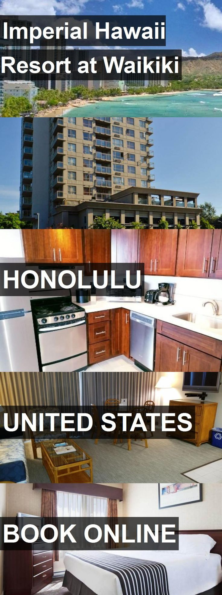 Hotel Imperial Hawaii Resort at Waikiki in Honolulu, United States. For more information, photos, reviews and best prices please follow the link. #UnitedStates #Honolulu #travel #vacation #hotel