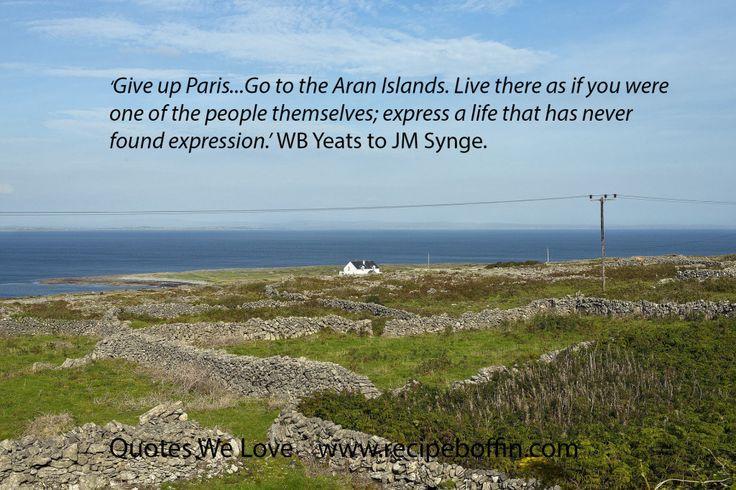 Aran islands yeats