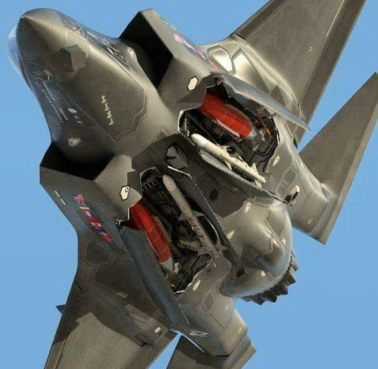 F-35 with open bays