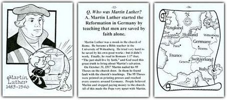 Church History for Young Children with Cartoons - Exodus Books